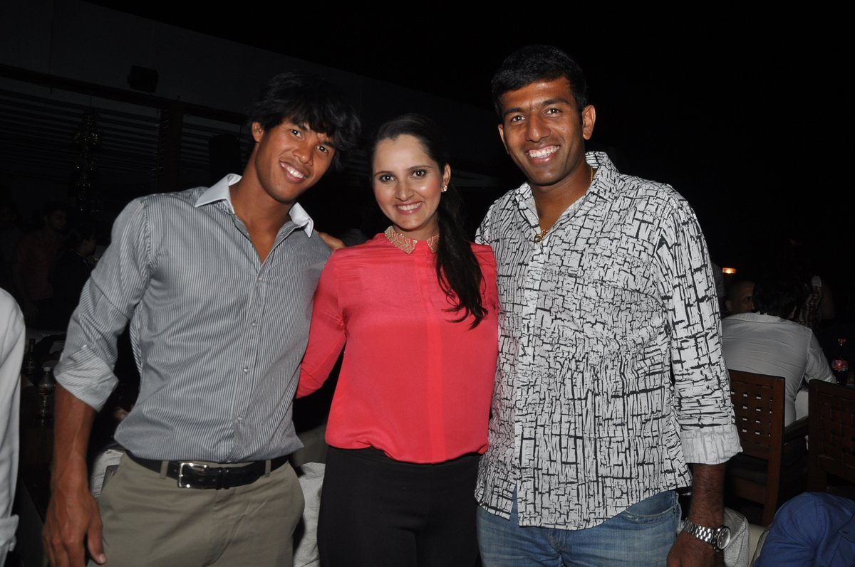 Sania Mirza New YEar bash (2)