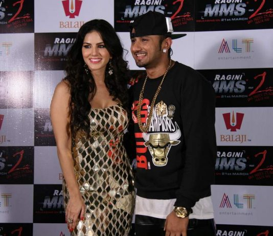 Sunny Leone and Honey Singh announce new song at press conference