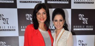 Sushmita Sen attends Rouble Negi's art exhibition