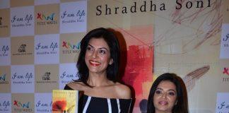 Sushmita Sen unveils Shraddha Soni's book I Am Life