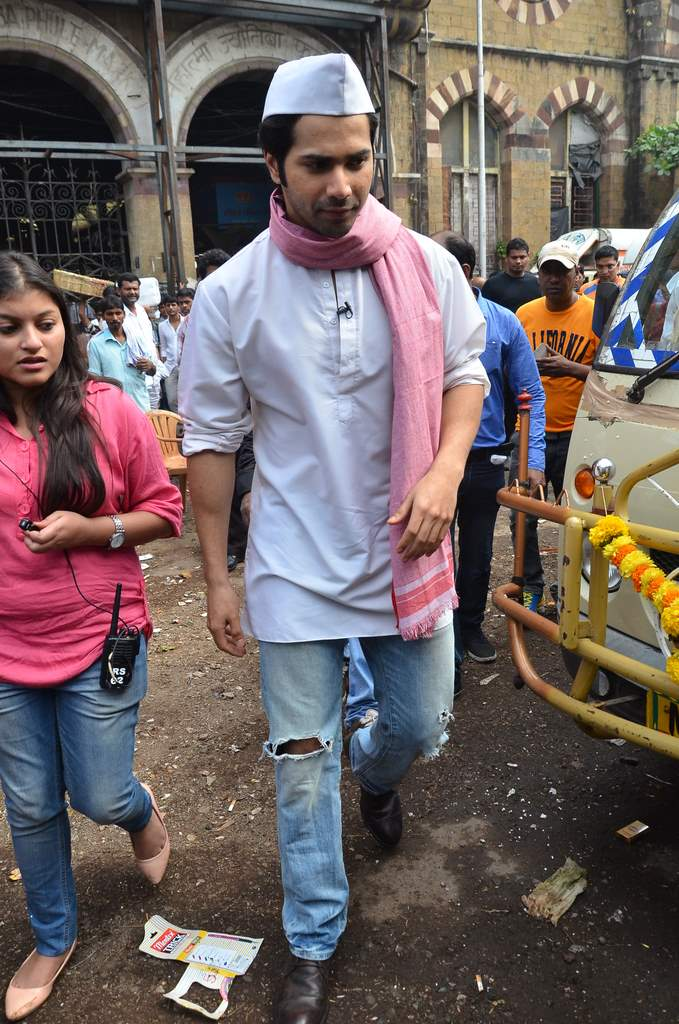 Varun dhawan shooting (2)