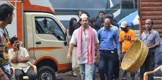 Varun Dhawan snapped shooting for Main Tera Hero – Photos