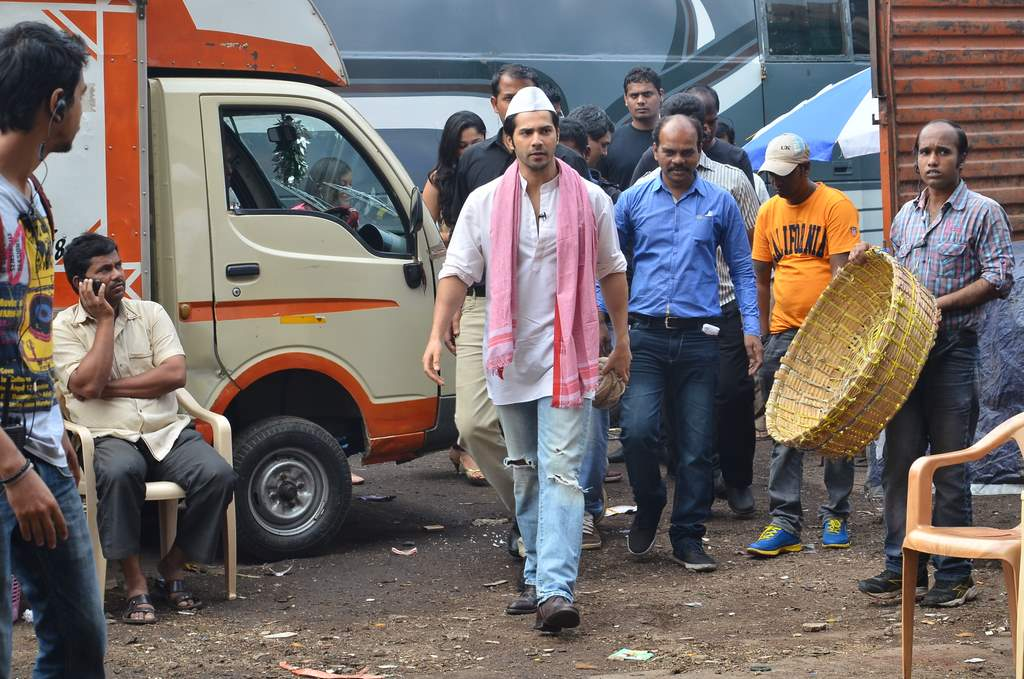 Varun dhawan shooting (4)