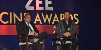 Shahrukh Khan attends Zee Cine Awards 2014 announcement press meet
