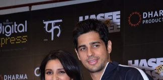 Sidharth Malhotra, Parineeti Chopra attend Hasee Toh Phasee app launch
