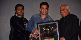 Salman Khan unveils A R Rahman and Kapil Sibal's album Raunaq