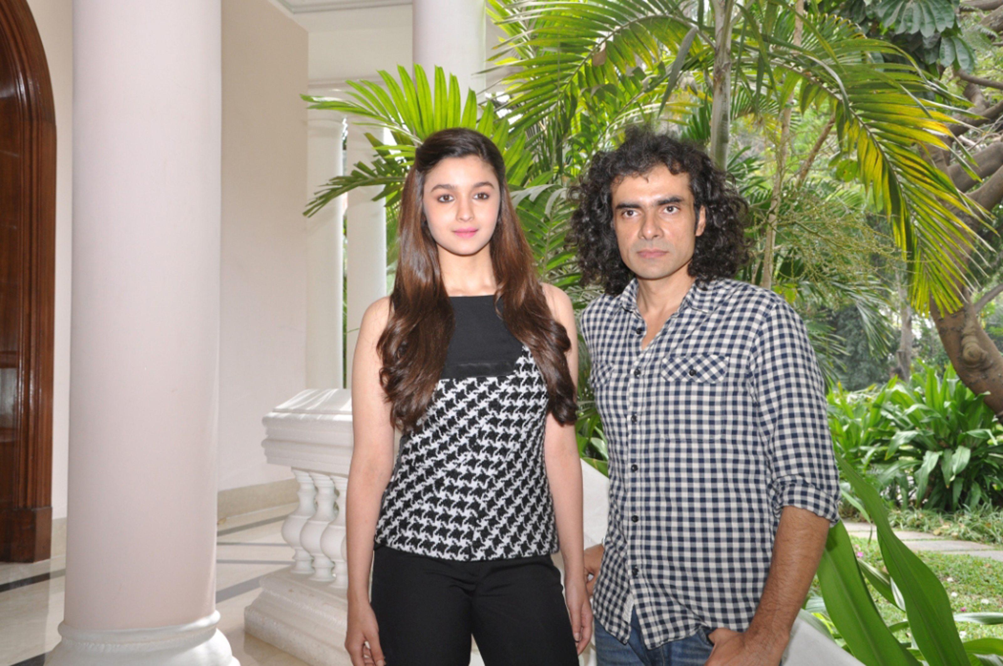 Alia Bhatt & Imtiaz Ali, at the Venue