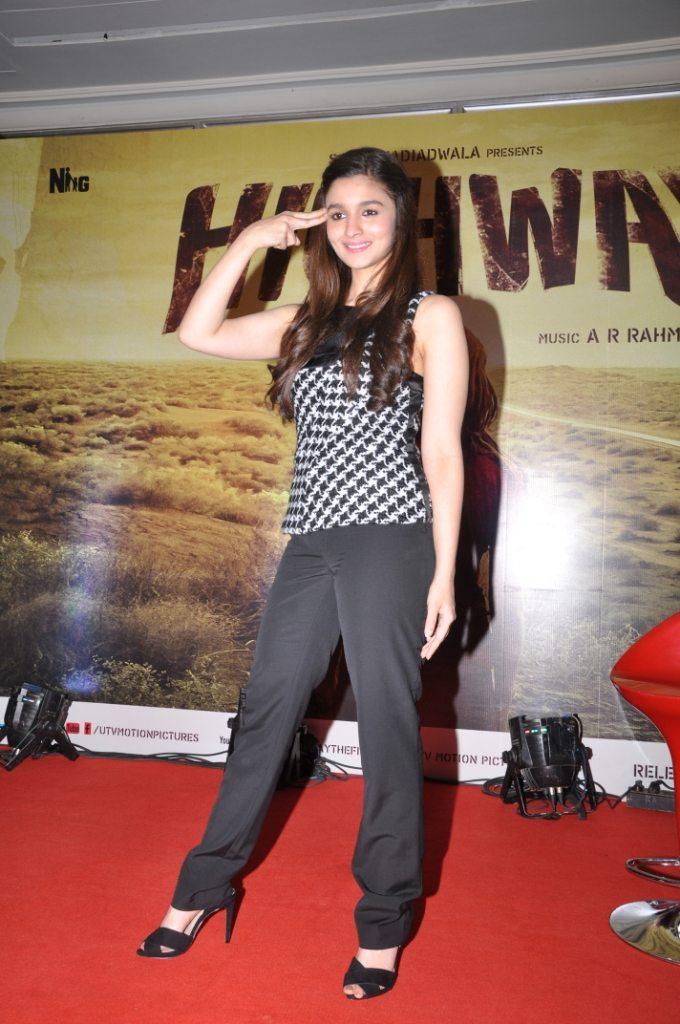 Alia Bhatt at the Launch