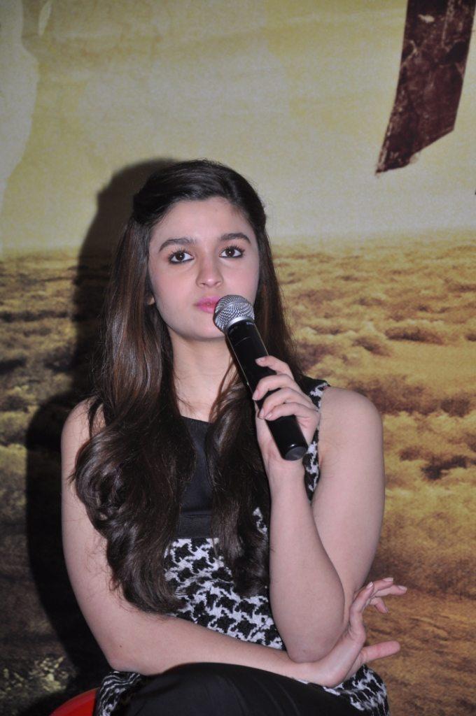 Alia Bhatt, at the event