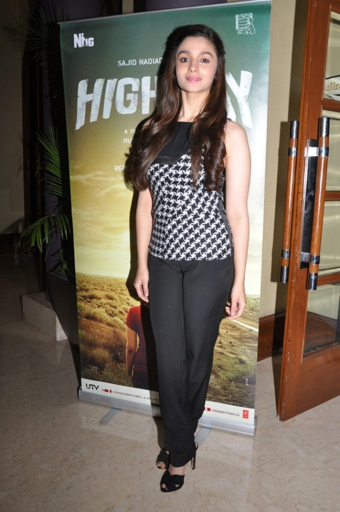 Alia, Launching the Posters of HIGHWAY
