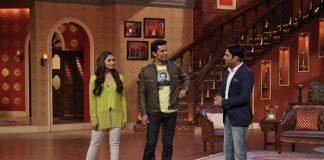 Alia Bhatt, Randeep Hooda promote Highway on Comedy Nights With Kapil
