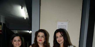 Ameesha Patel attends Alert India Pankaj Udhas concert