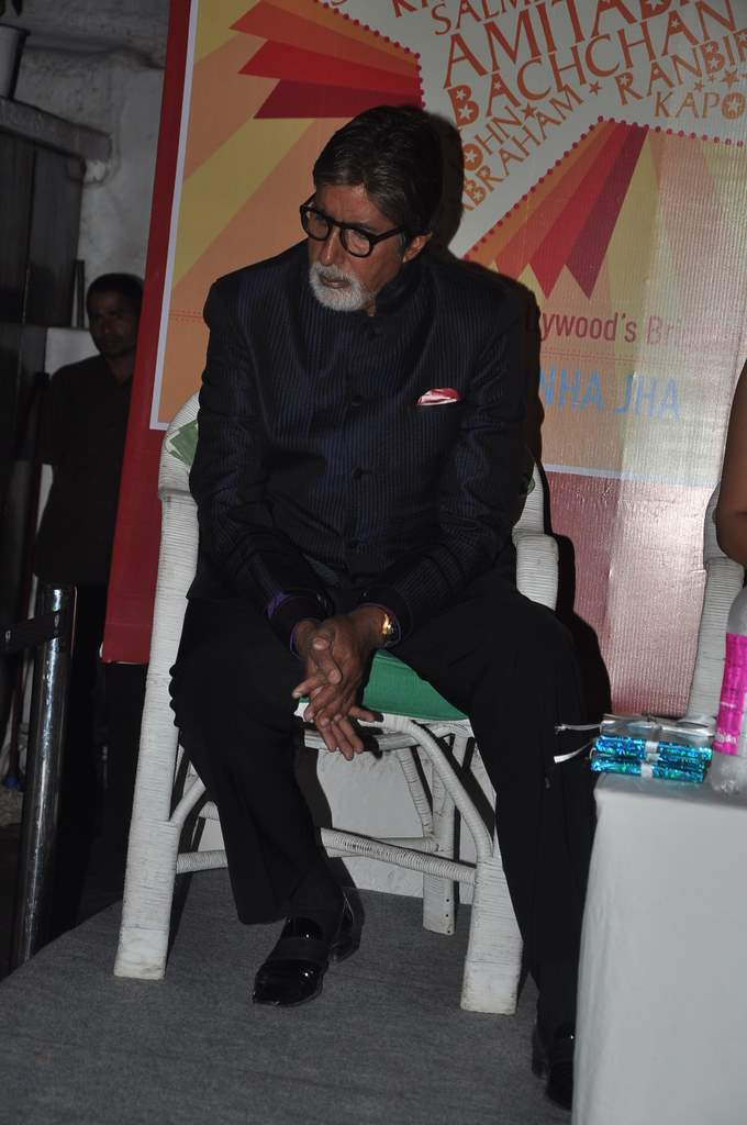 Amitabh bachchan at book launch (1)