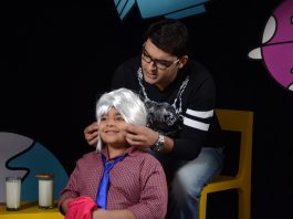Kapil Sharma interviewed by Sadhil Kapoor on Captain Tiao