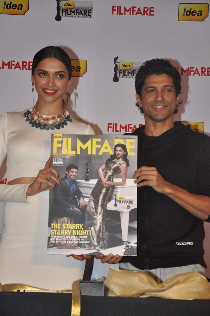 Deepika and farhan filmfare (1)