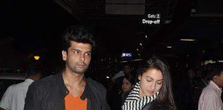Kushal Tandon, Gauhar Khan snapped at airport – Photos