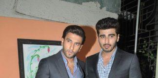 Ranveer Singh and Arjun Kapoor promote Gunday on Comedy Circus