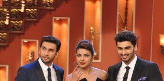 Ranveer Singh, Priyanka Chopra promote Gunday on Comedy Nights With Kapil