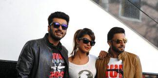 Priyanka Chopra, Ranveer Singh, Arjun Kapoor promote Gunday at Welingkar College