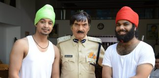 Asrani, Kader Khan, Sara Khan snapped on Happy and Peppy Singhs' shoot – Photos