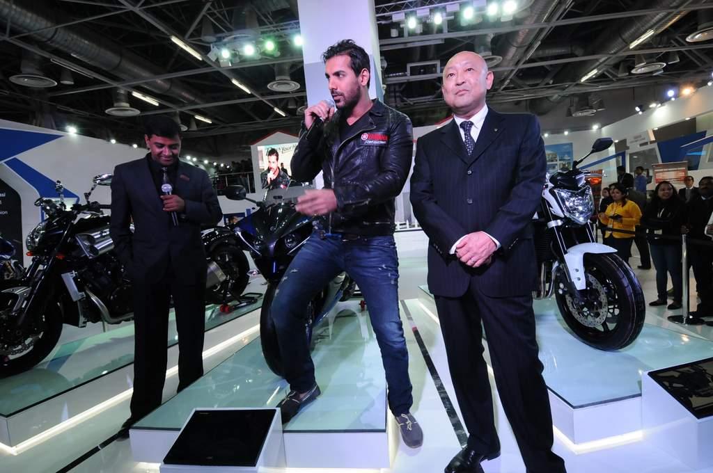 John at auto expo 2014 (2)