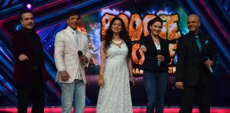 Madhuri Dixit, Juhi Chawla promote Gulaab Gang on Boogie Woogie