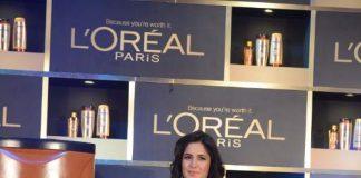 Katrina Kaif attends L'Oreal Paris' 6 Oil Nourish launch event