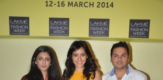Mahie Gill, Amrita Puri, Neha Sharma attend Lakme Fashion Week presser