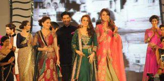 Madhuri Dixit, Preity Zinta, Lara Dutta sizzle at Lilavati Hospital's fashion show