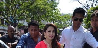 Madhuri Dixit attends Gulaab Gang promotions in Bhopal