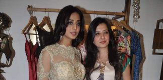 Mahie Gill tries out Amy Billimoria's Victorian look