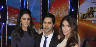 Varun Dhawan, Ileana D'Cruz, Nargis Fakhri promote Main Tera Hero on India's Got Talent