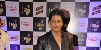 Shahrukh Khan, Nargis Fakhgri, Ileana D'Cruz attend Mirchi Music Awards 2014
