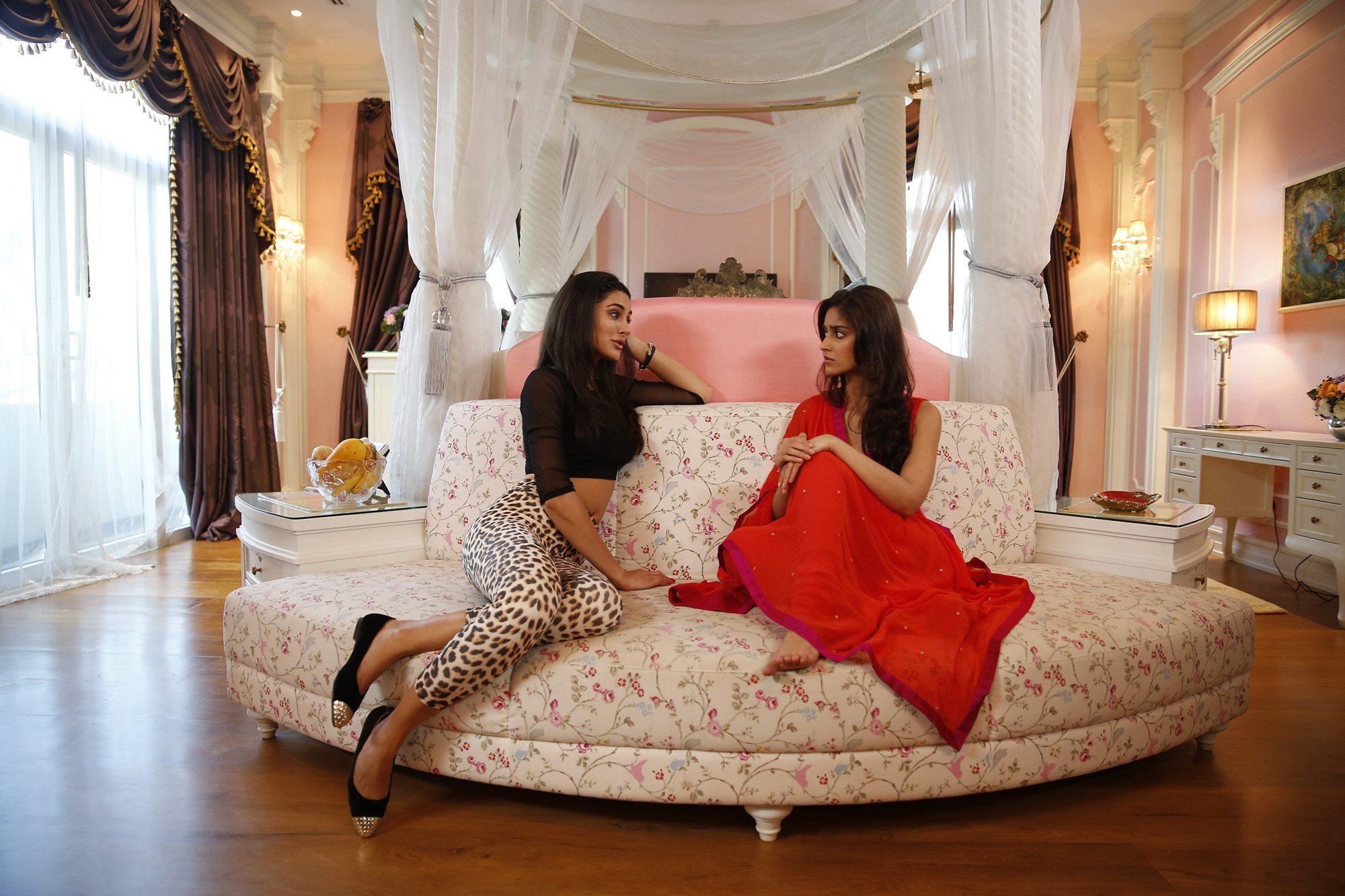 Nargis and Illeana