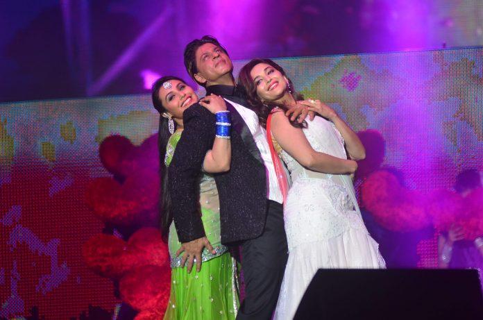 Rani Mukerji, SRK and Madhuri Dixit-Nene perform for Temptation Reloaded 2014 Malaysia