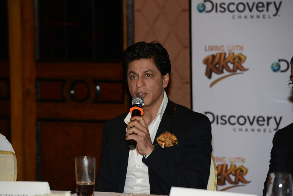 Shahrukh Khan KKR press meet (2)