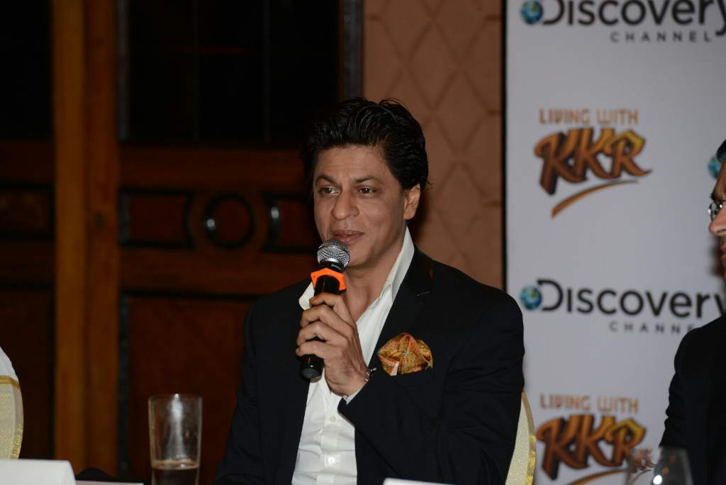 Shahrukh Khan KKR press meet (3)