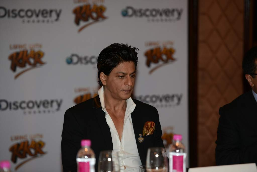Shahrukh Khan KKR press meet (6)