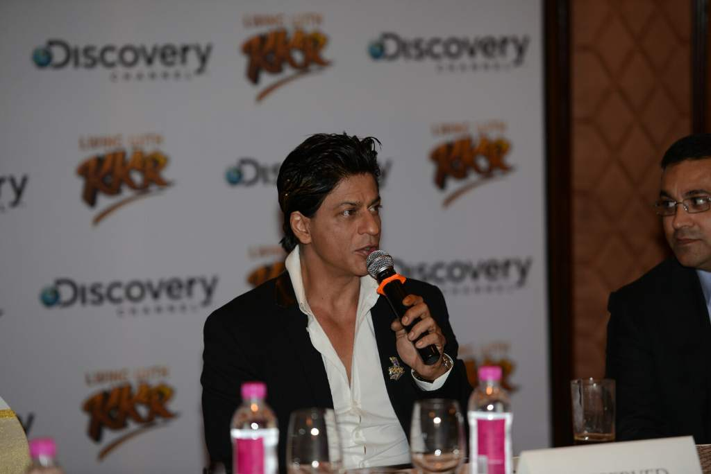 Shahrukh Khan KKR press meet (7)