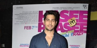 Sidharth Malhotra promotes Hasee Toh Phasee at PVR