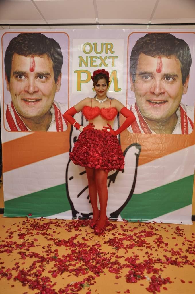 Tanisha Singh Rahul Gandhi (1)