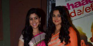 Vidya Balan promotes Shaadi Ke Side Effects on Bade Achche Lagte Hain
