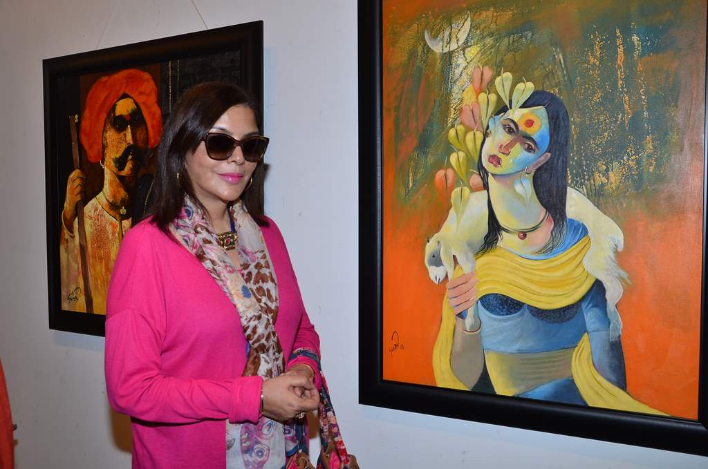 Zeenat exhibition (1)