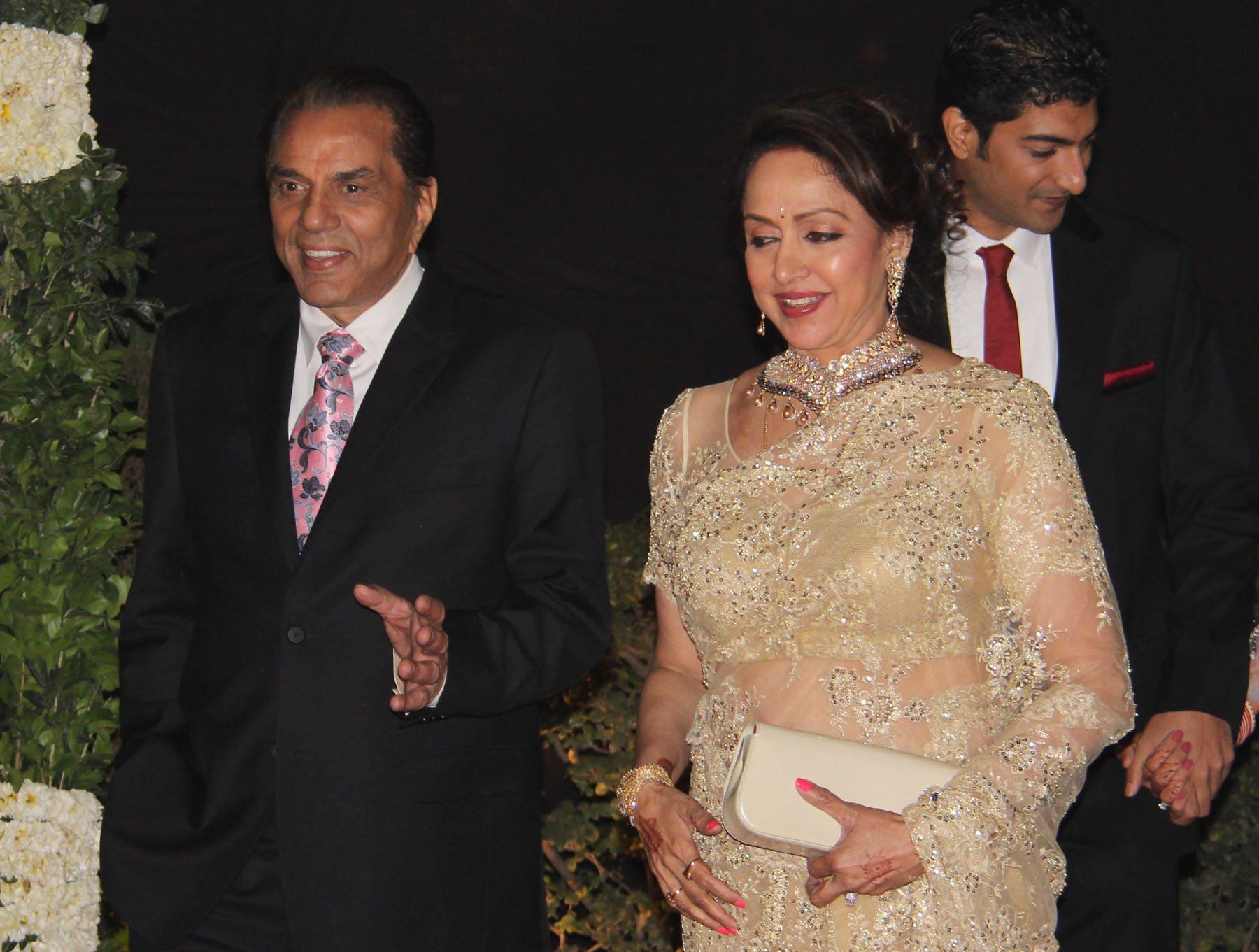 ahana deol delhi reception (1)