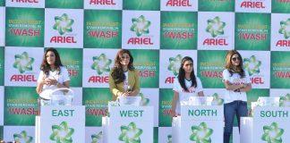 Raveena Tandon, Madhoo, Sakshi Tanwar attend Ariel event in Mumbai