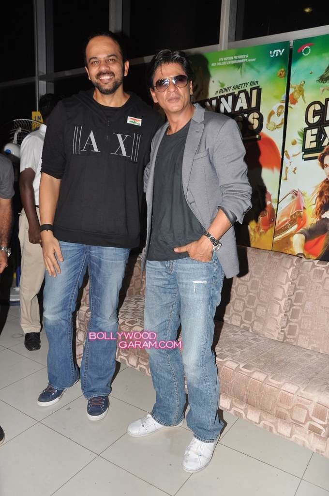 rohit and shahrukh