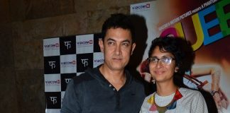 Aamir Khan, Kiran Rao attend special screening of Queen