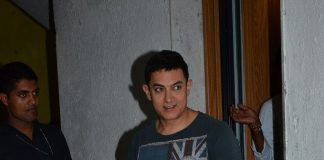 Aamir Khan celebrates 49th birthday with fans and media