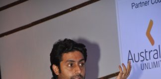 Abhishek Bachchan talks about Dhoom brand at FICCI Frames 2014