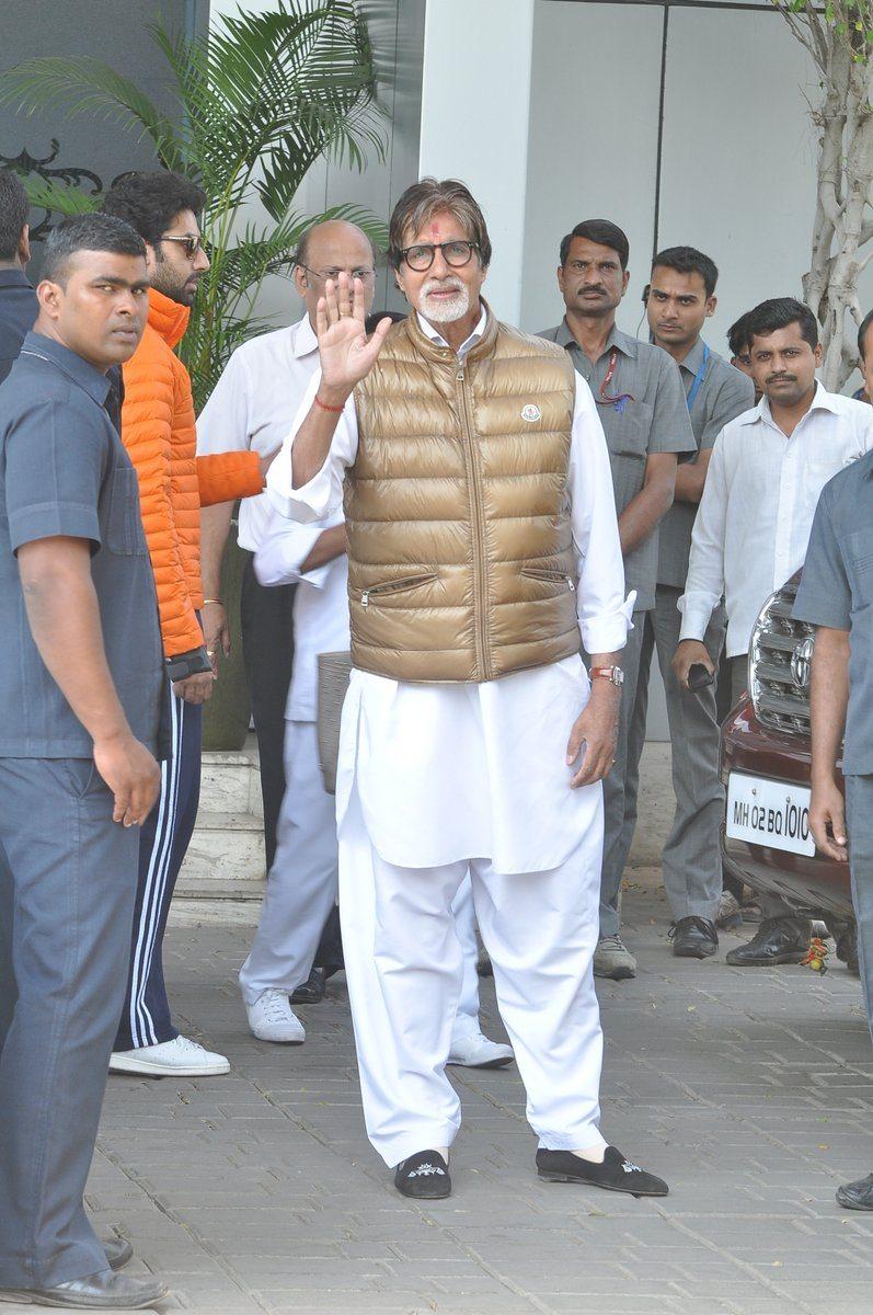 Bachchans holi (2)